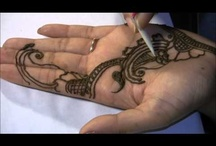 Mehndi / I love this form of art.  I also love the fact that mehndi is ideal for those not wanting permanent tattoos.