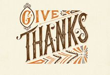 Thank You Card Typography