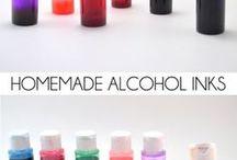 Алкогольные чернила