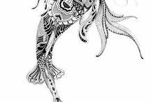 Tattoo-fish