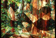 Art Quilts Fractured Landscapes / Fractured Landscapes by Katie Pasquini Masopust