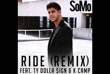 """New Music: SoMo """"Ride"""" featuring Ty Dolla $ign & K Camp / SoMo's self-titled debut album entered at #6 on the Billboard charts and #1 on the iTunes Album Chart.  His breakout single """"Ride"""" was certified Gold and his new single """"Show Off"""" is currently climbing at radio."""