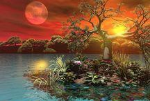 Příroda--krajinky