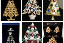 Christmas tree with gems