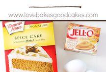 Desserts / desserts, cooking, baking, DIY treats, food