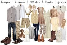 Wardrobe Inspiration for Families / A collection of styles found all over Pinterest, thank you all for sharing some wonderful fashion!