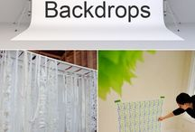 backdrops diy