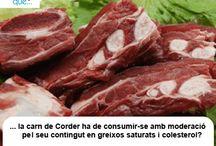 Xai / Cordero  / Aquí trobaràs curiositats sobre la carn de xai  / Aquí encontrarás curiosidades sobre la carne de cordero