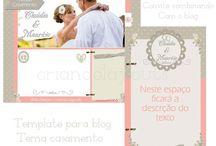 Templates para blog  / Aqui você encontrará uma gama de templates para enfeitar seu blog