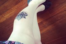 Calf tattoo / Mandala tattoos for girls