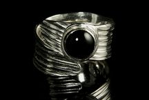 Black Onyx Jewelry / Black Onyx Rings, Necklaces, Bracelets and more!   / by Jewel of Havana