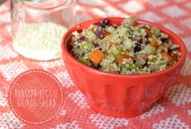Quinoa Recipes / by Andrea