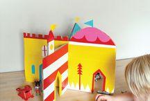 casitas, castillos y torres