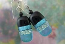 Beads - fused glass / by Gail Smith