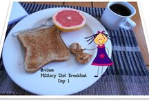 My Military Diet Meals
