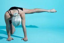 [ exercise + workout gifs ] / yoga, pilates etc