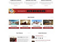 Church Website Layout Samples / Examples of Church Website Layout Options