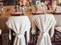 Winter silver grey cozy wedding