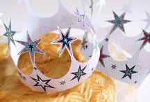 ✄ {DIY} Epiphanie ✄ / Recettes galettes des Rois et autres petits bricolages pour célébrer l'Epiphanie