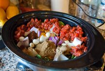 Food in the slow cooker / by Linda N