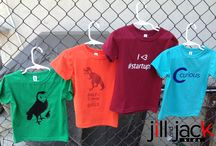 Kids' Clothes that Go Beyond Pink and Blue from Jill and Jack Kids / Check out the first four designs in our new line of clothes for kids who dream beyond pink and blue. No girls' department, no boys' department. Just awesome clothes for awesome kids!