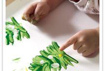 Kartki zrobione przez dzieci