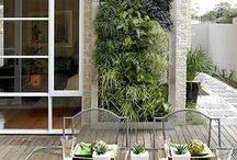roof + wall inspiration / not a lot of space for a garden? don't worry! green walls and roof decks are a trendy, attractive way to spice up your home.