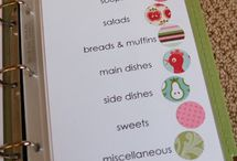 recipe book ideas