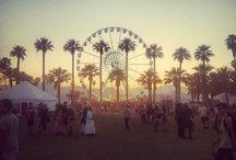 Coachella look / Le look du festival de Coachella.