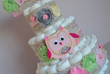 Diaper Cakes / by Ashley Caruso
