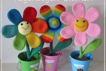 Blumen selbstgemacht