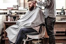 Hipster barbers