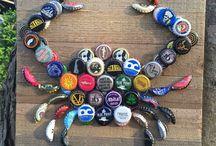 Bottle caps creations