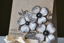 One Stamp - Antique Flowers and Butterflies