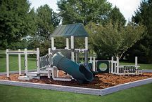 Commercial Playsets / Swing Kingdom has a variety of commercial model swingsets for neighborhoods, community parks, church playgrounds and other facilities. All models are ADA compliant.
