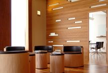 wooden offices
