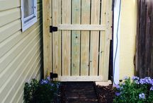 Fence and gate ideas