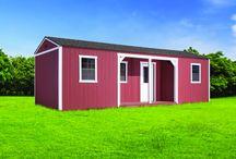 Open Porch Office W/ Corner& Side Porches