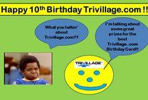 Trivillage.com 10th Birthday - Birthday Cards / Trivillage.com 10th Birthday Cards