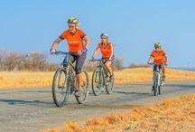 Tour South Africa / Dit jaar zullen we voor de derde keer gaan fietsen in Afrika: een 8-daagse off road tocht door de prachtige ongerepte natuur van Zuid-Afrika. Van 6 september t/m 14 september fietsen we een onvergetelijke route voor Orange Babies!