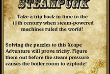 Xcape Adventures / Escape Room Dallas (XcapeDFW.com) A real-life escape room game designed to give players a realistic feel of being immersed in a fictional setting.  / by P S