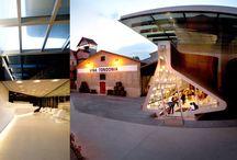 La arquitectura del vino / bodegas con diseños espectaculares wineries with spectacular designs caves avec des dessins spectaculaires Weingüter mit spektakulären Entwürfe