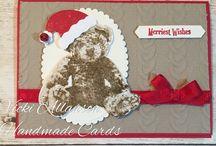 Santa baby bear