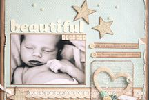 Baby Scrap Pages