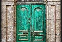 Doors.  OLD / To paint