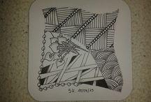 Mein Zentangle