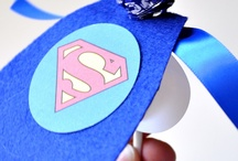Josh superhero birthday