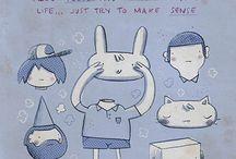 Ilustrações, posters e que tais