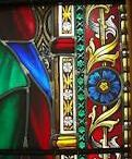 Stained glass. .