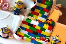 Lego Cakes / Lego themed cakes, cupcakes and cake topers.